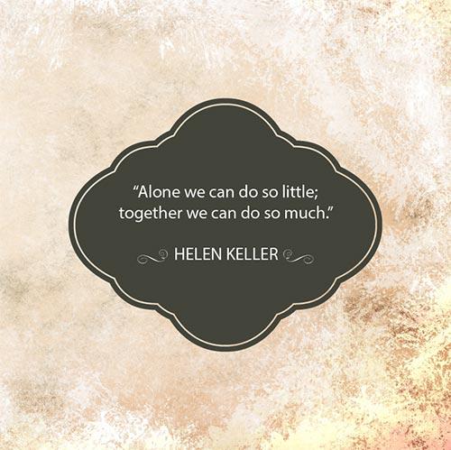Helen Keller quote 2